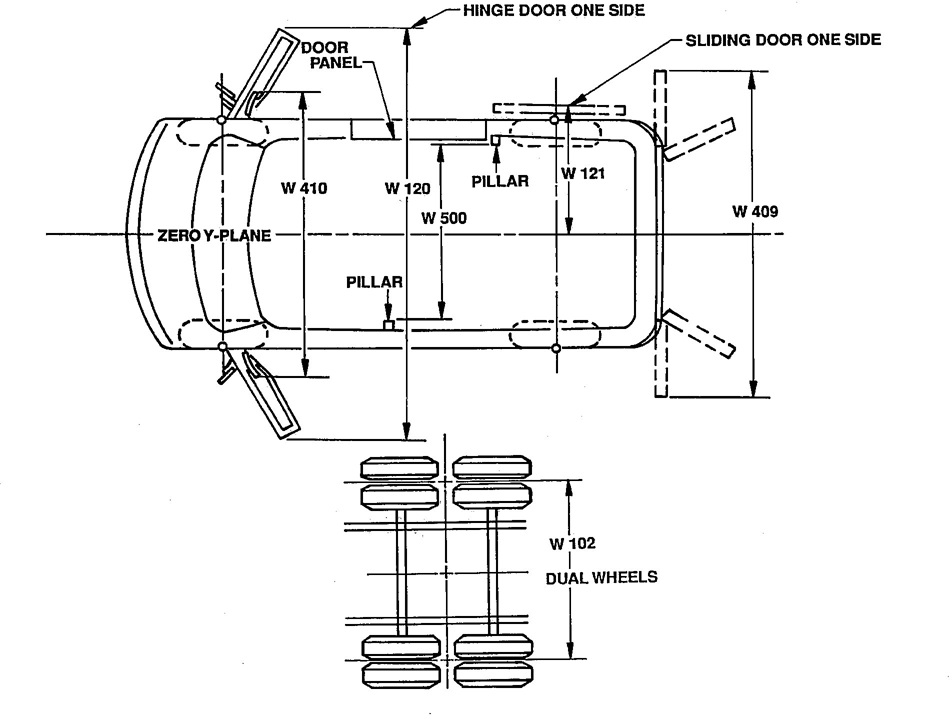 Sae j1100 2001 on ford rear axle diagram