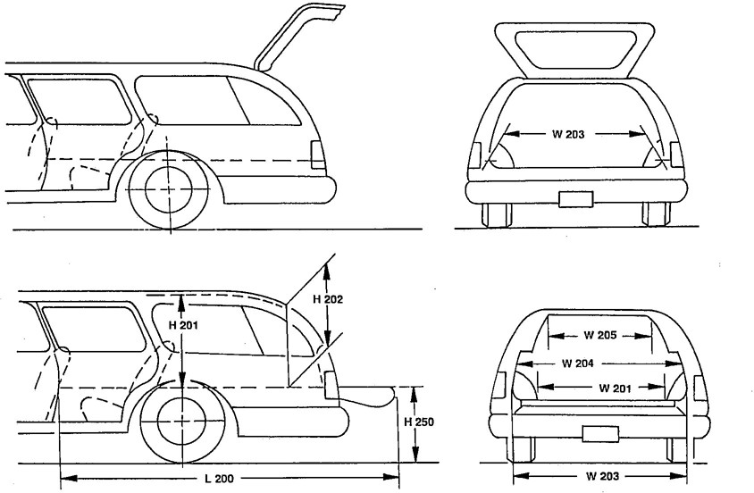 Motor Vehicle Dimensions